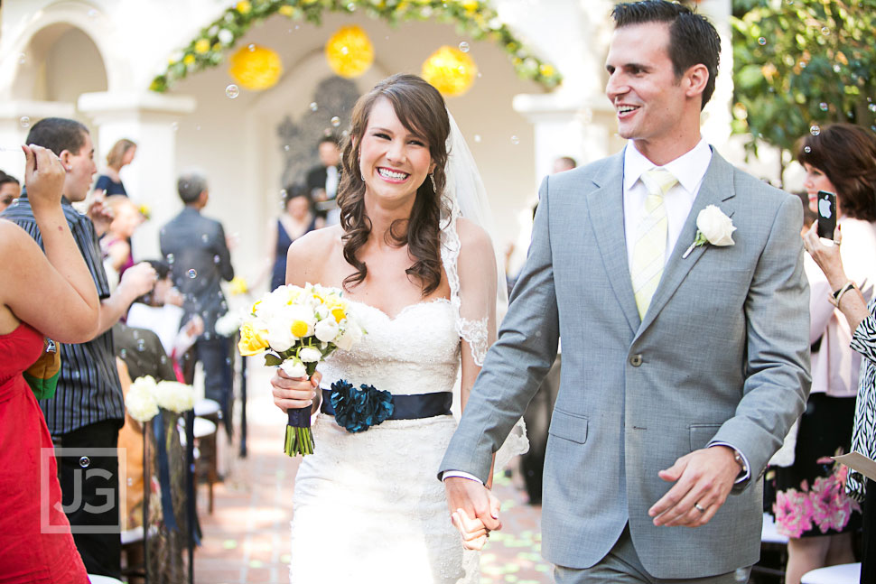 Wedding Ceremony at Rancho Las Lomas