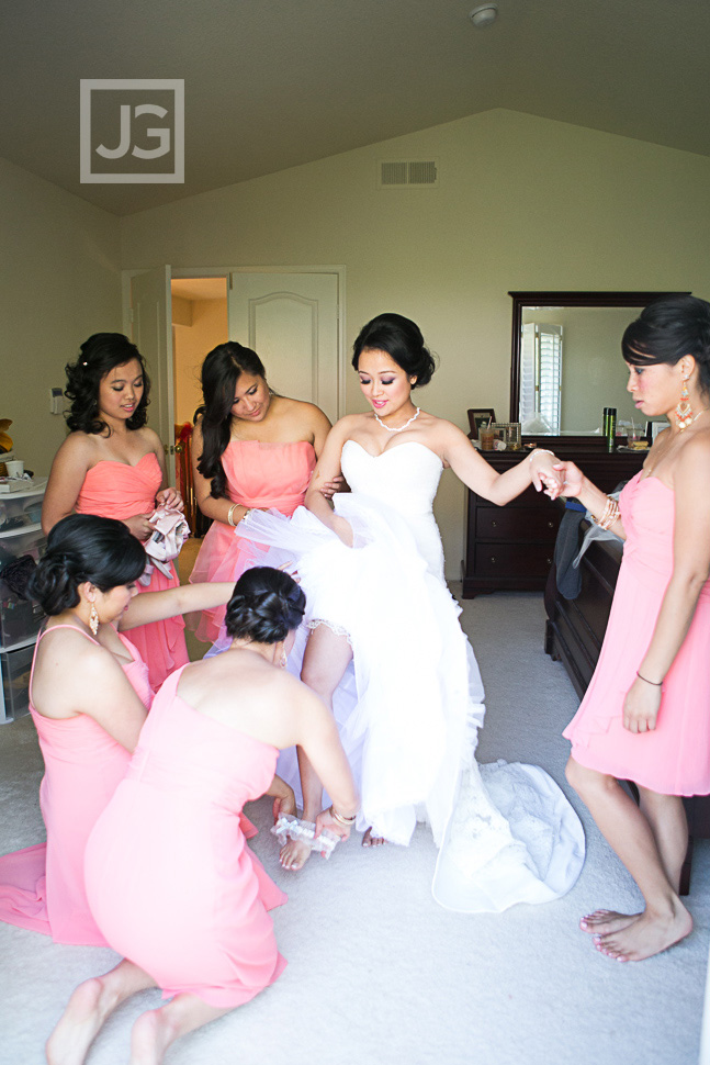 Porter Ranch Wedding Dress Preparation