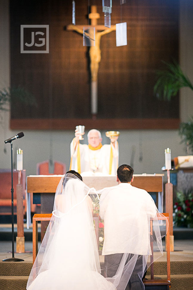 St Johns Eudes Church Wedding Ceremony