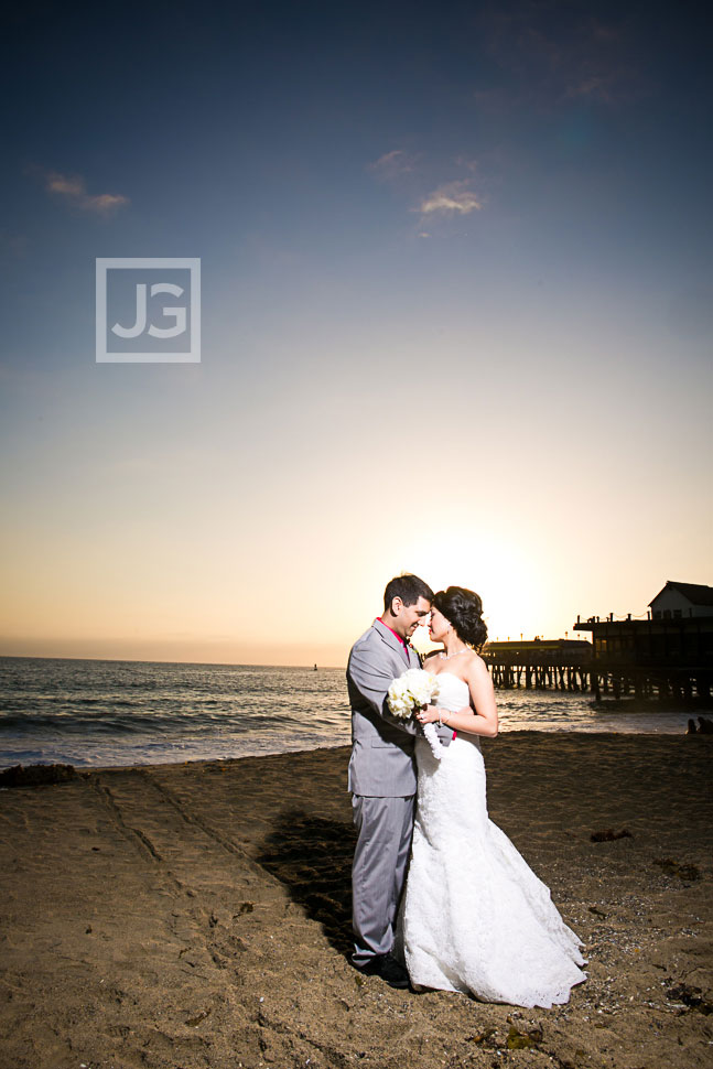 Redondo Beach Pier wedding photography
