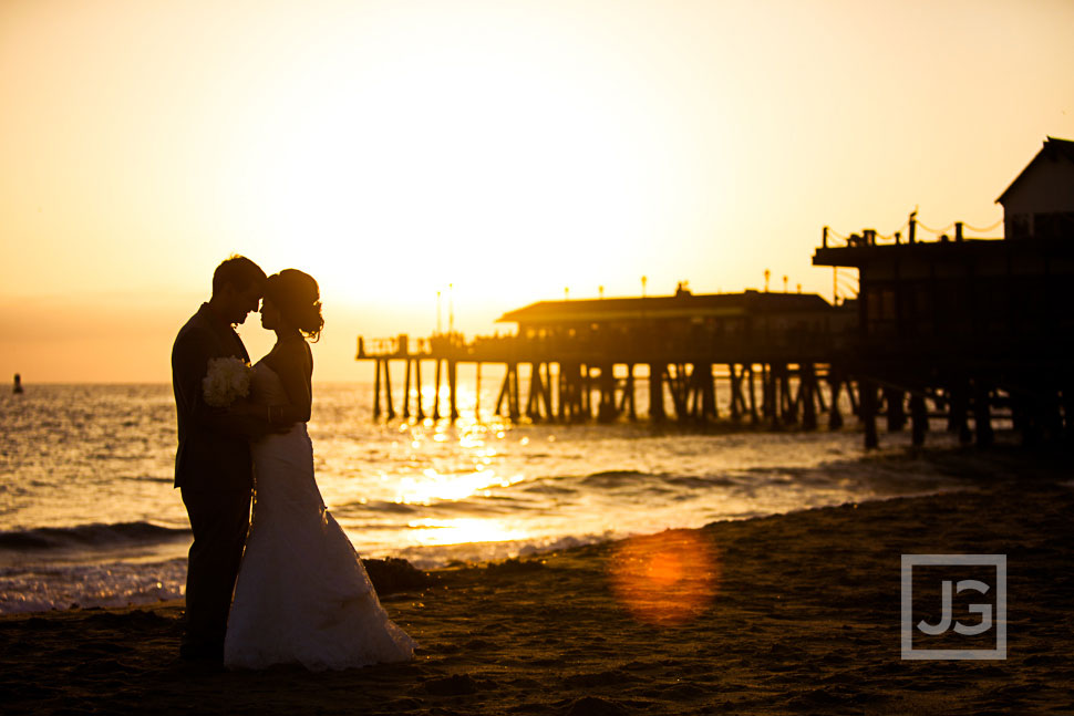 Redondo Beach Historic Library wedding photography
