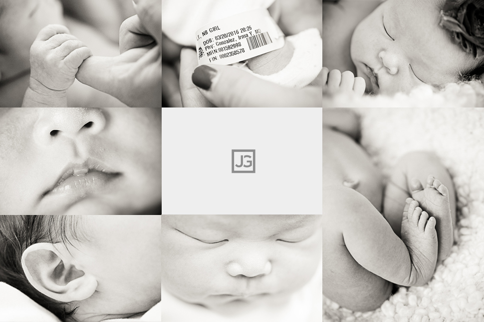 Newborn announcement card