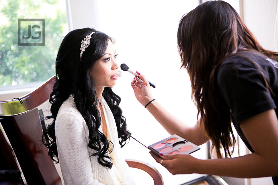 Wedding Preparation in San Pedro