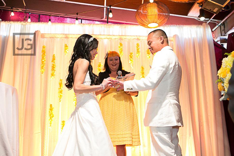 Westminster Wedding Ceremony