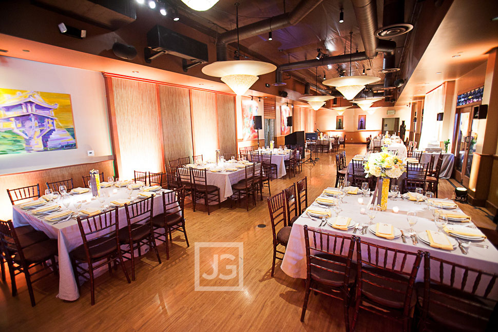 Westminster Wedding Reception