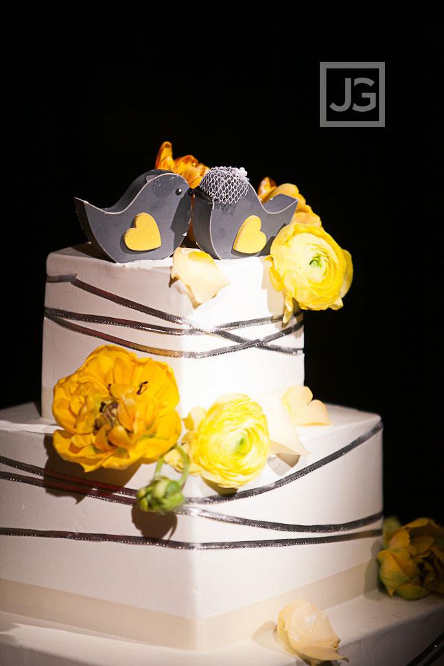 Westminster Wedding Reception Cake
