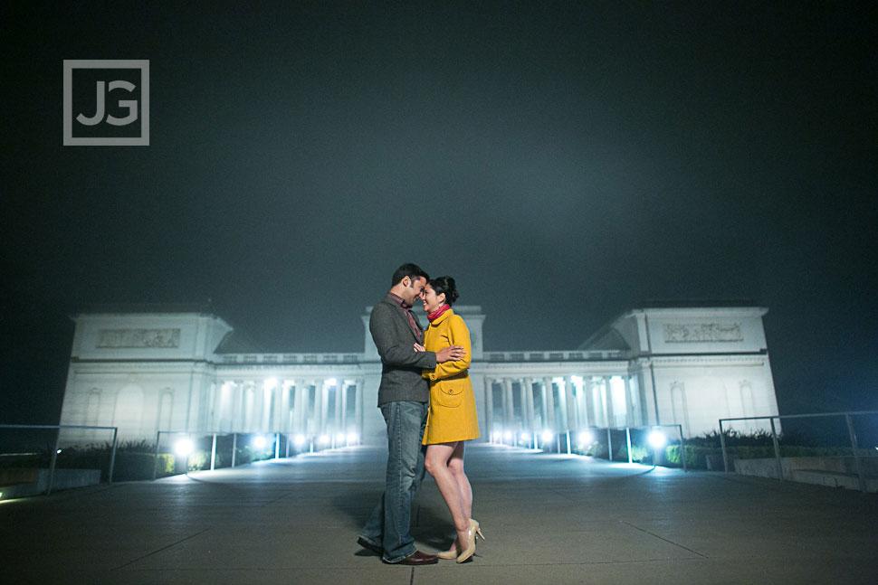 San Francisco Engagement Photography Legion of Honor