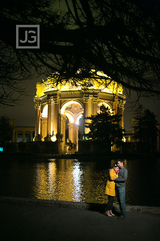 San Francisco Engagement Photography Palace for Fine Arts