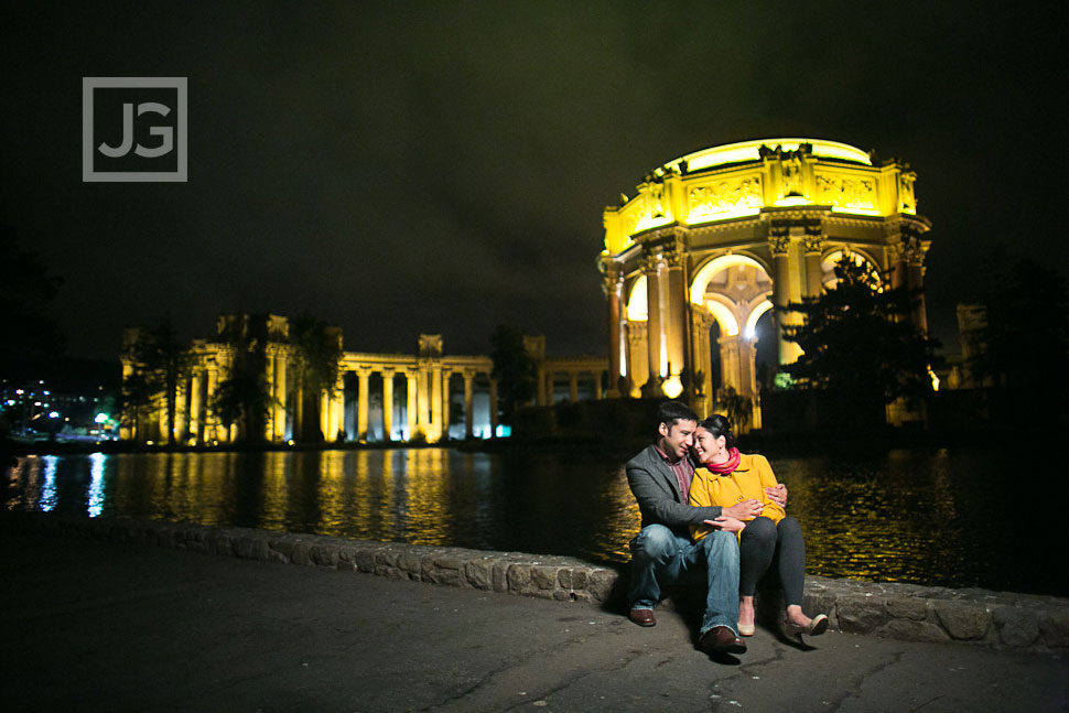 San Francisco Engagement Photography, Palace for Fine Arts | Vero+Yann