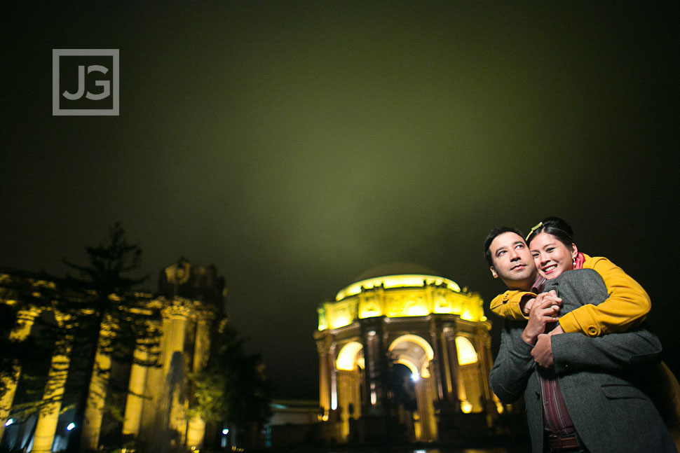 Engagement Photography Palace for Fine Arts