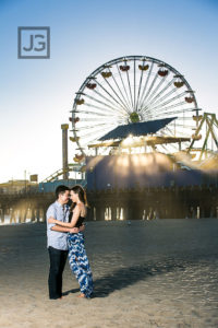 UCLA Engagement Photography, Santa Monica  | Alla & Darren
