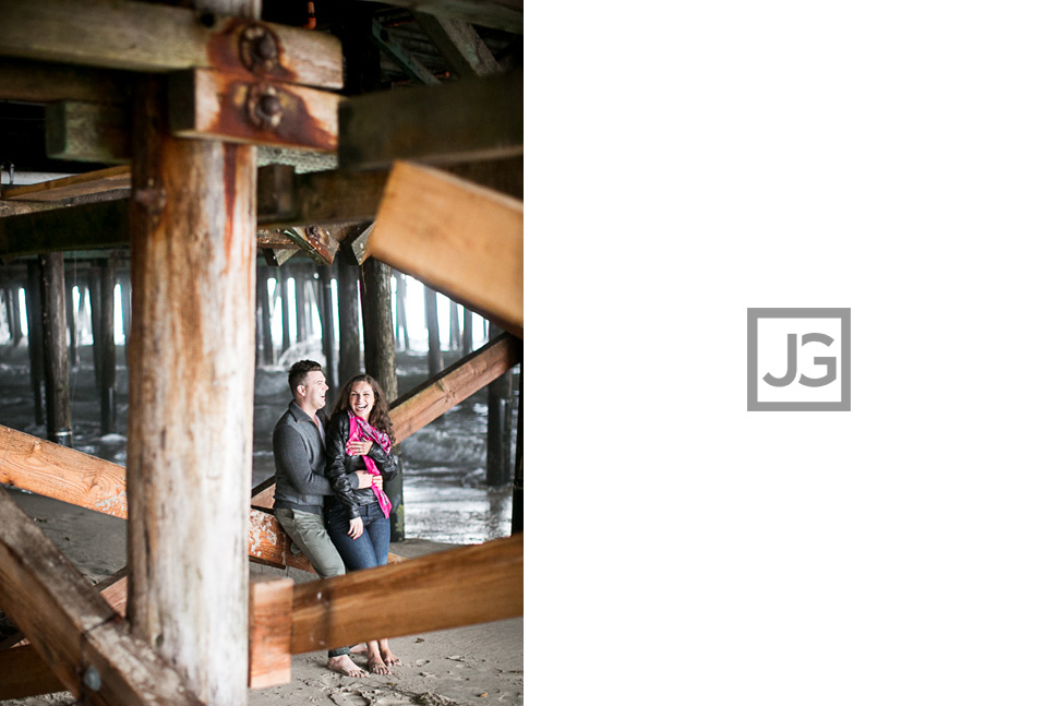 Engagement Photography Santa Monica Pier