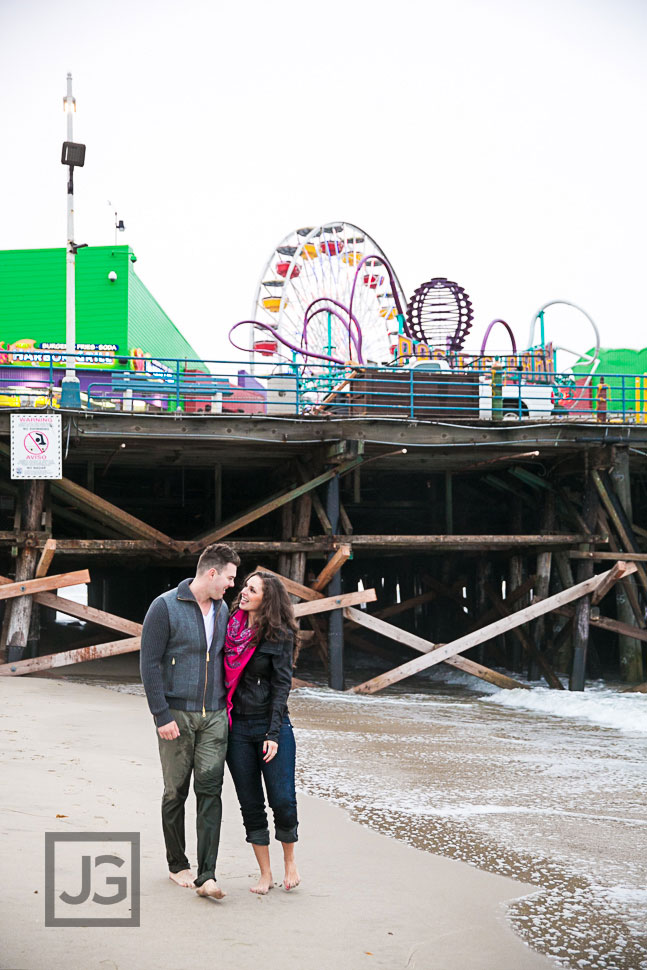 Engagement Photography Santa Monica