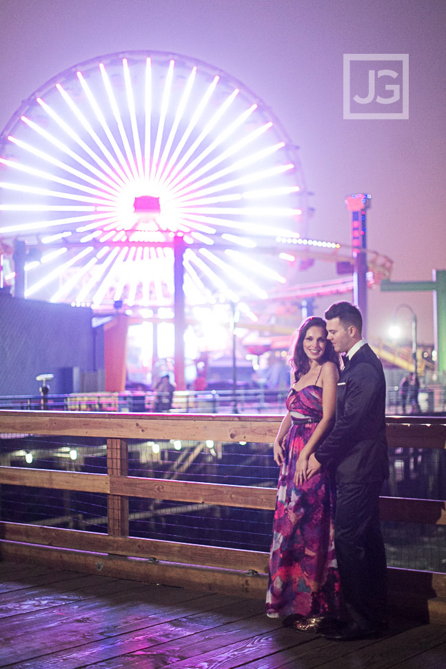 Engagement Photos Santa Monica Pier