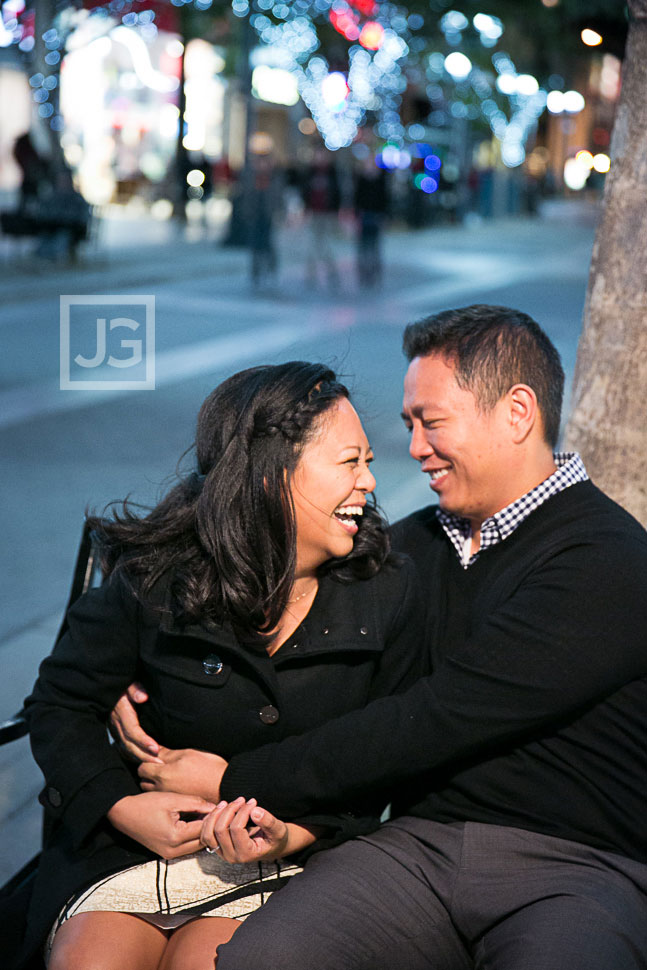 3rd Street Promenade Engagement Photos