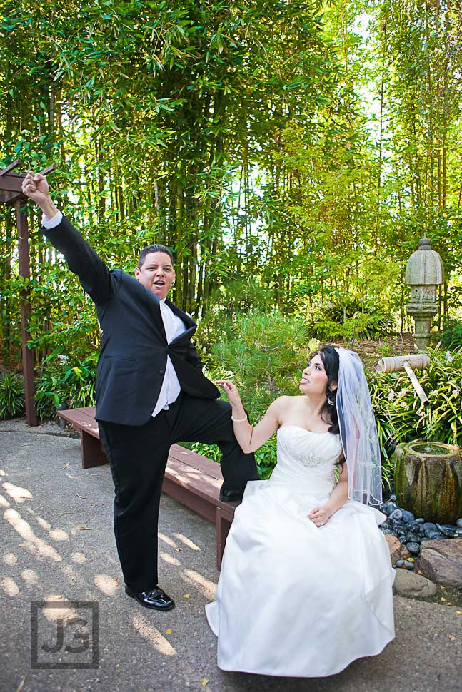 CSULB Japanese Garden Wedding Photos