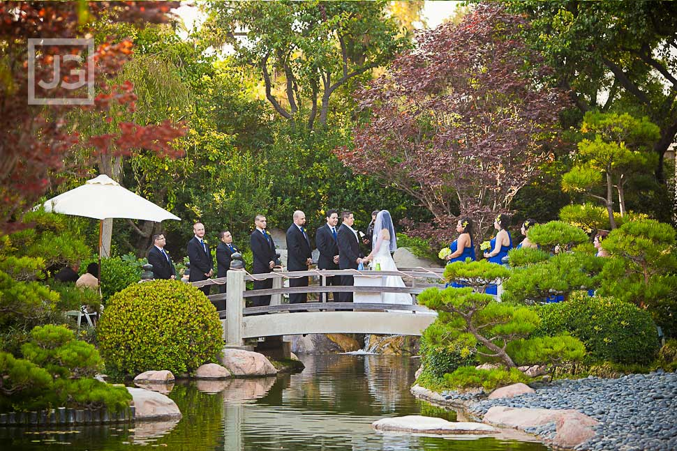 Japanese Garden Wedding Ceremony