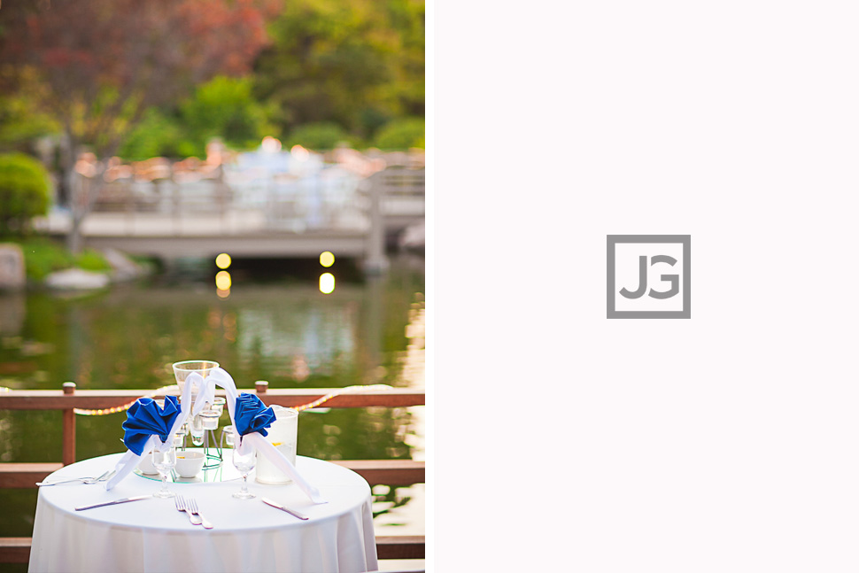 CSULB Japanese Garden Wedding Reception
