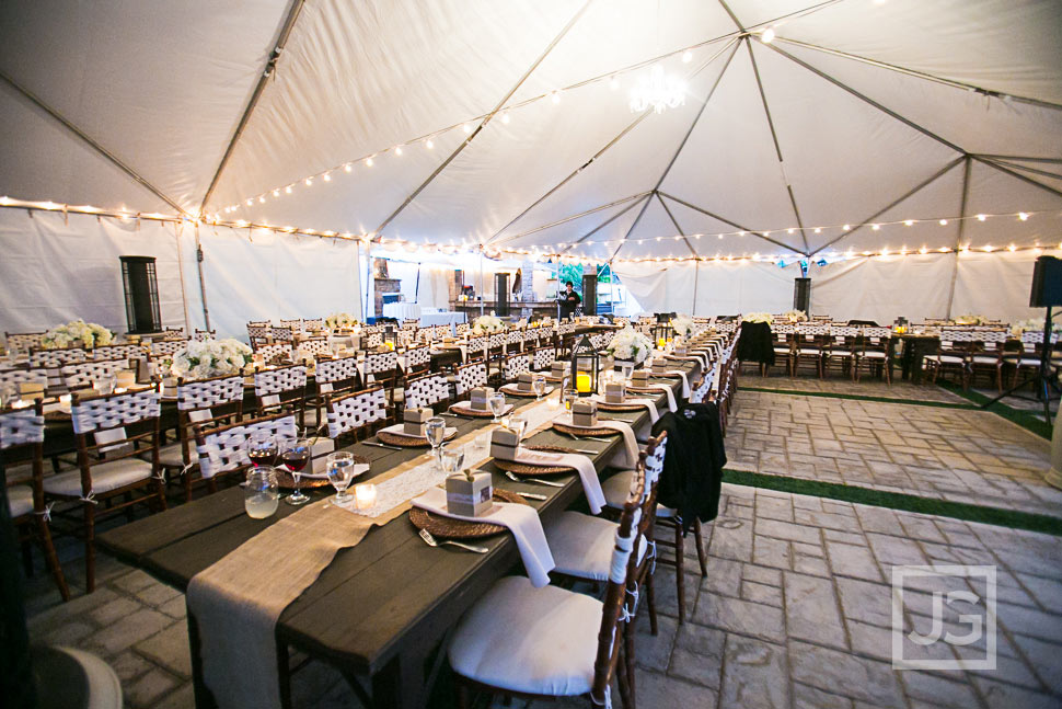 Serendipity Garden Wedding Reception Tent