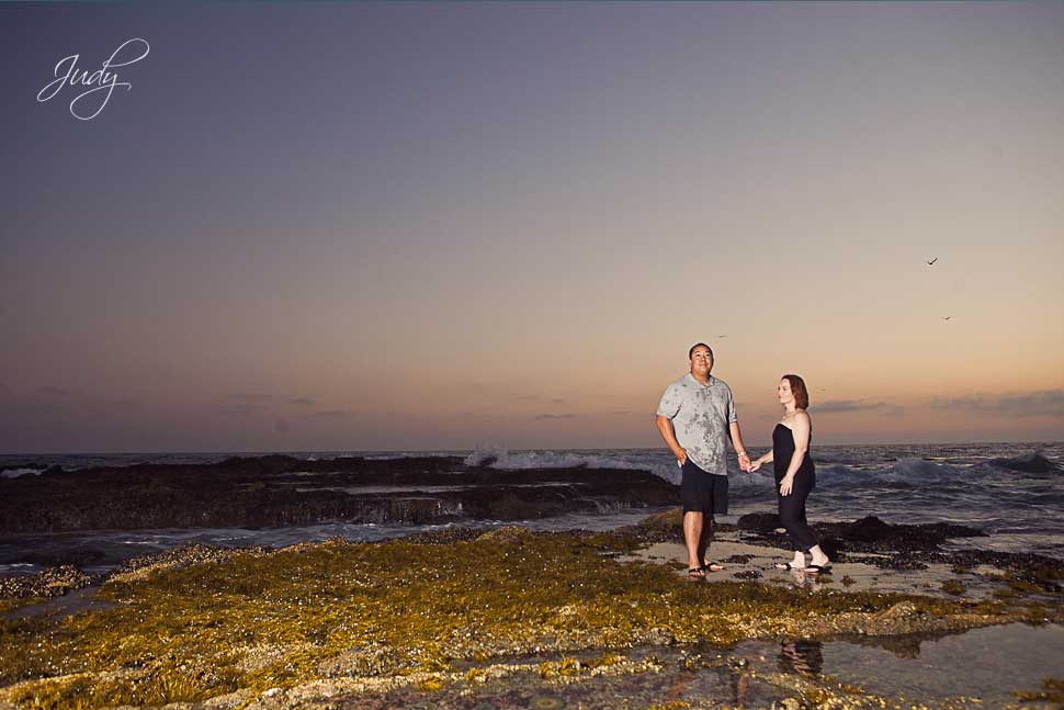 Victoria Beach Engagement Photos