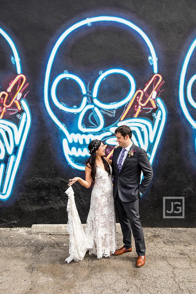 Graffiti Los Angeles Wedding Photography