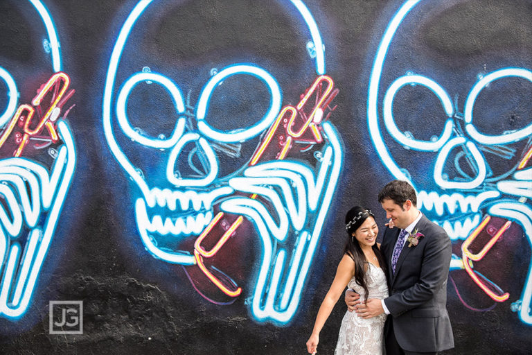 Smog Shoppe Wedding Photography – Los Angeles | Megan + Dom