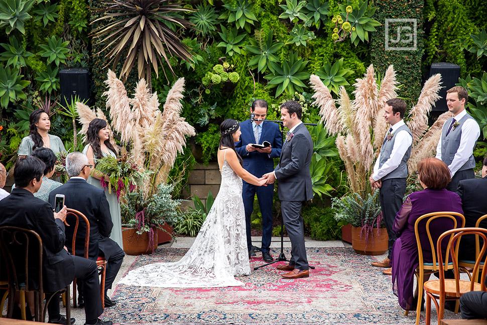 Smog Shoppe Wedding Ceremony