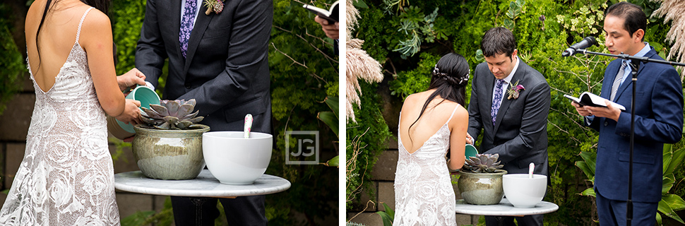 Wedding Ceremony Plant Ceremony