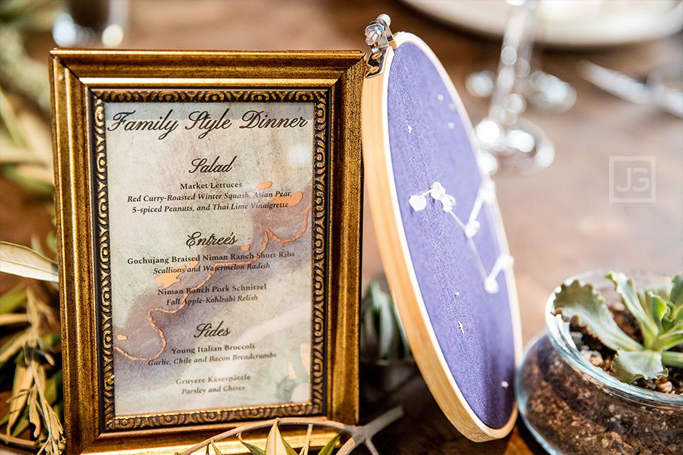 Smog Shoppe Wedding Reception Details