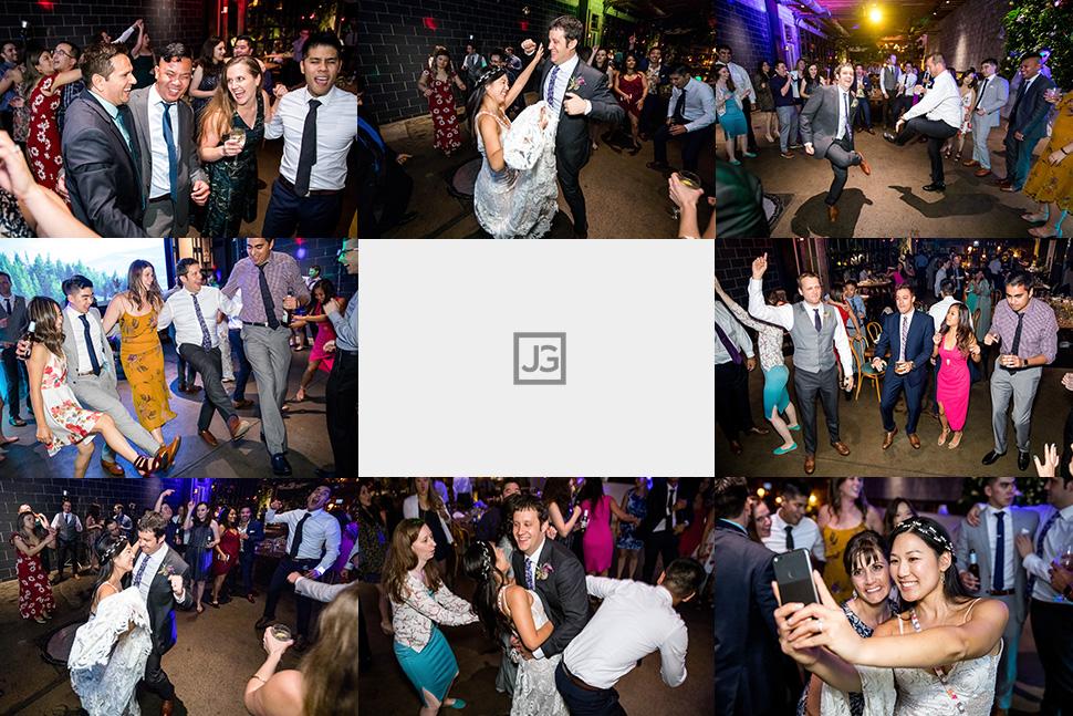 Smog Shoppe Wedding Dancing