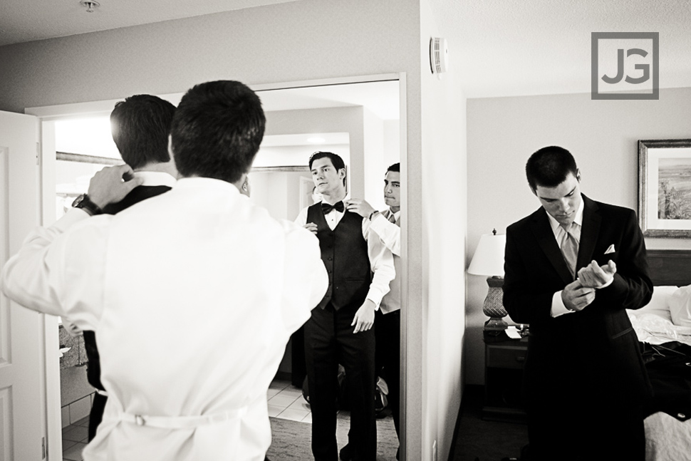 Camarillo Hampton Inn Wedding Preparation