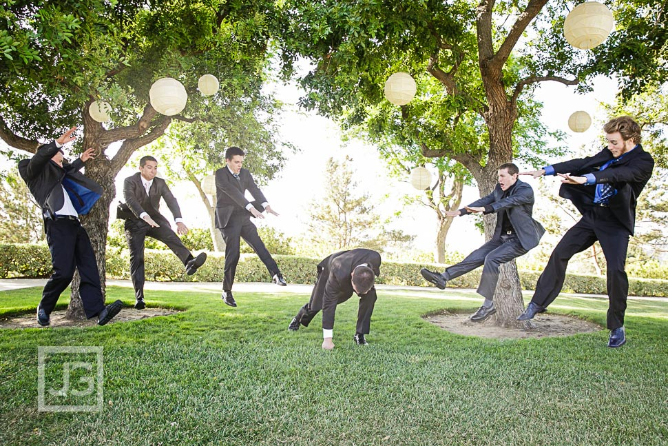 Spanish Hills Wedding Party Photos