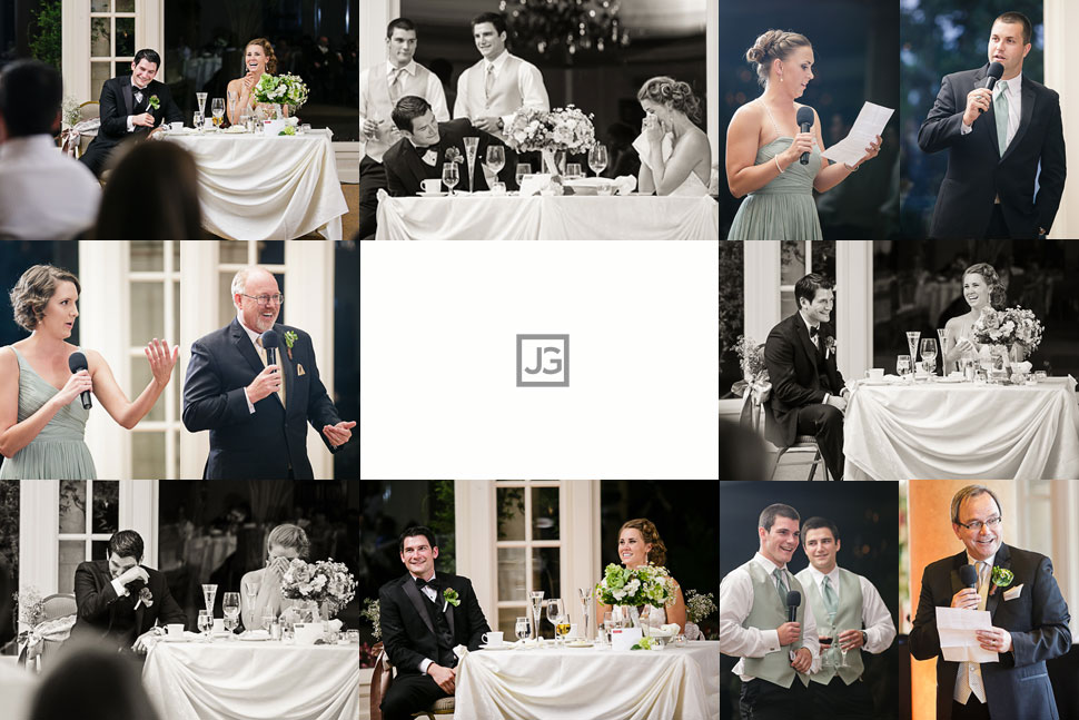 Spanish Hills Wedding Reception Speeches