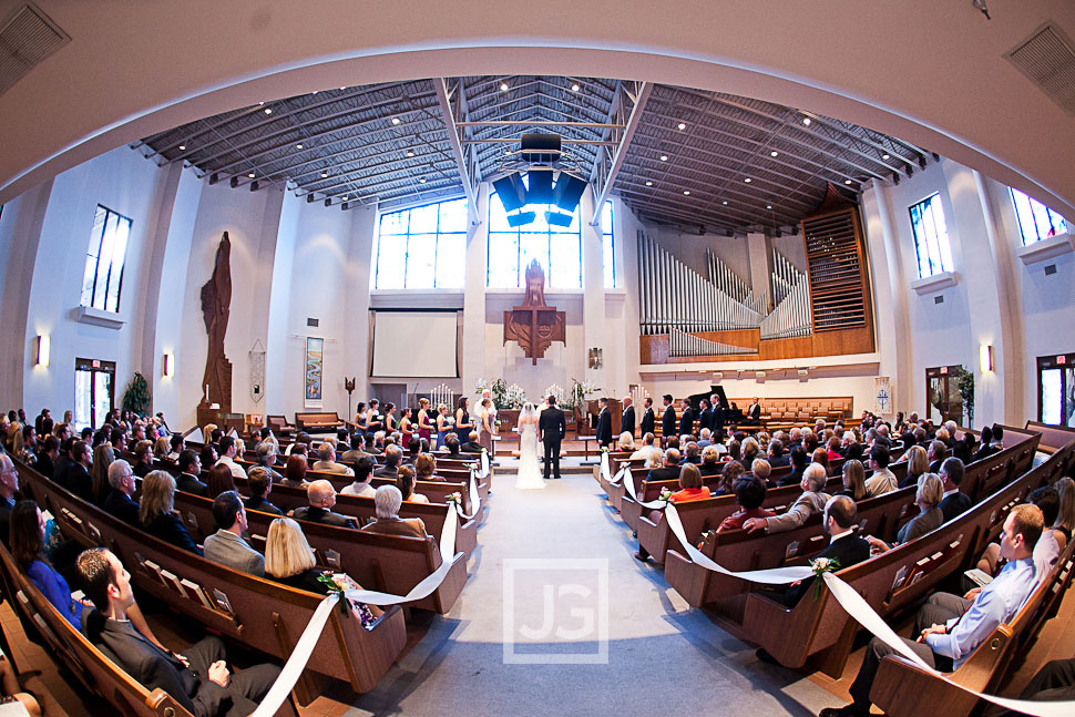 Ascension Lutheran Church in Thousand Oaks Wedding Ceremony