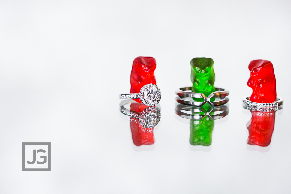 Wedding Ring Photos Gummy Bears