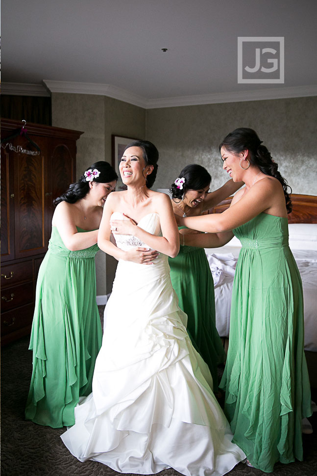 Hilton Universal City Wedding Dress