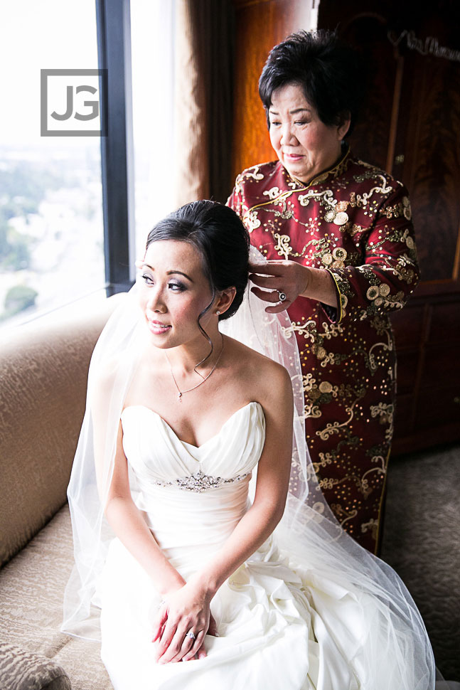 Hilton Universal City Wedding Preparation
