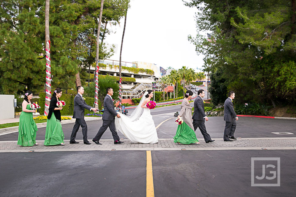 Hilton Universal City Wedding Photography