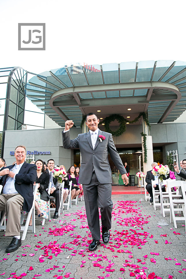 Hilton Universal City Wedding Ceremony