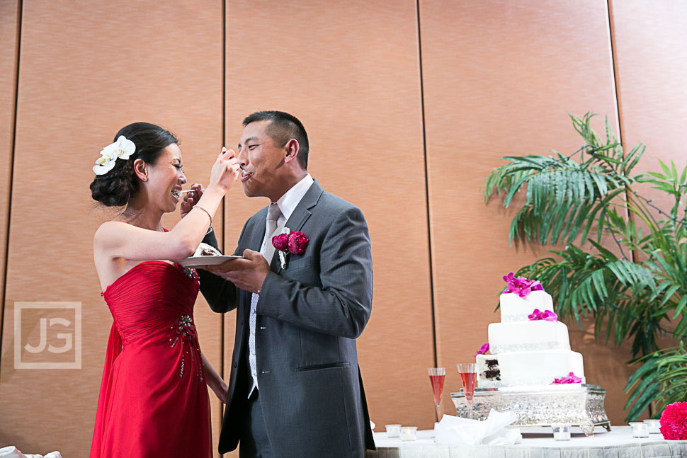 Hilton Universal City Wedding Reception