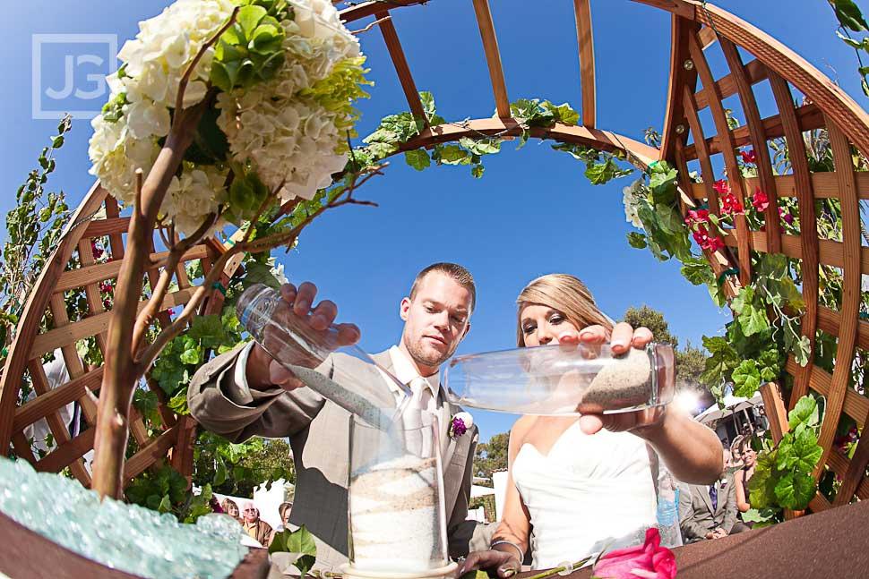 San Clemente Historic Cottage Wedding Ceremony