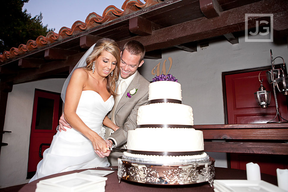 San Clemente Historic Cottage Wedding Reception