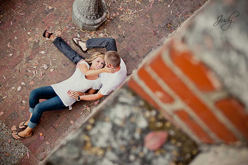 Downtown Laguna Beach Engagement Photography