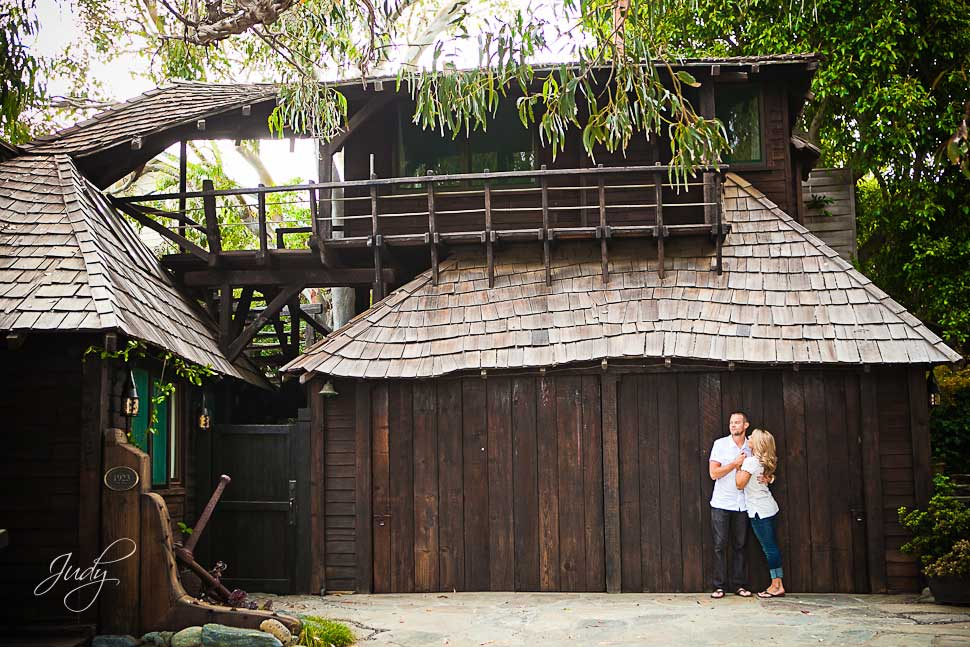 Downtown Laguna Beach Engagement Photography