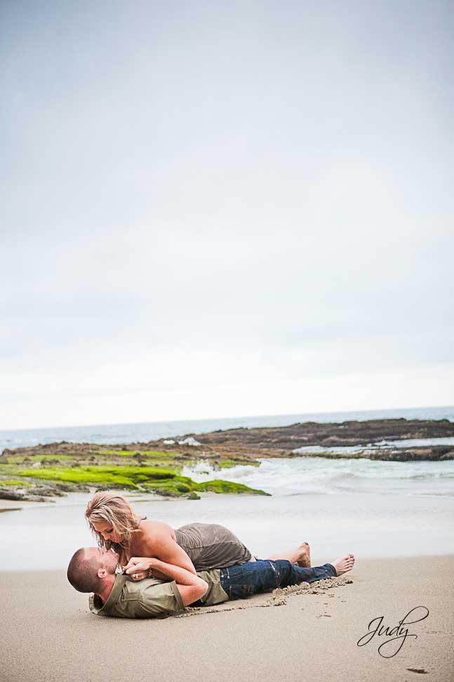 Sexy Laguna Beach Engagement Photography