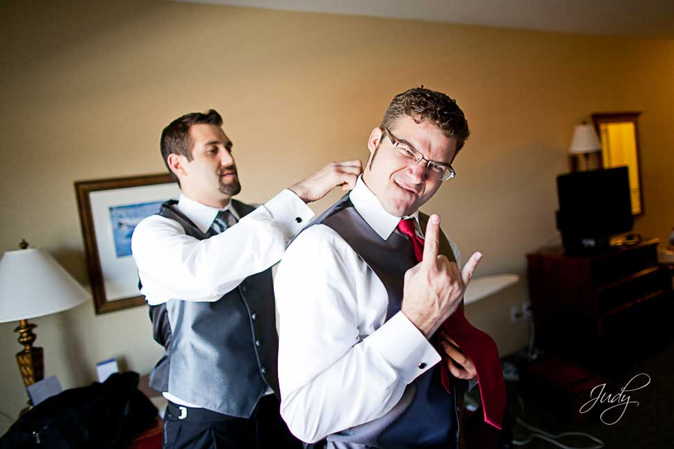 Hampton Inn Camarillo Wedding Preparation