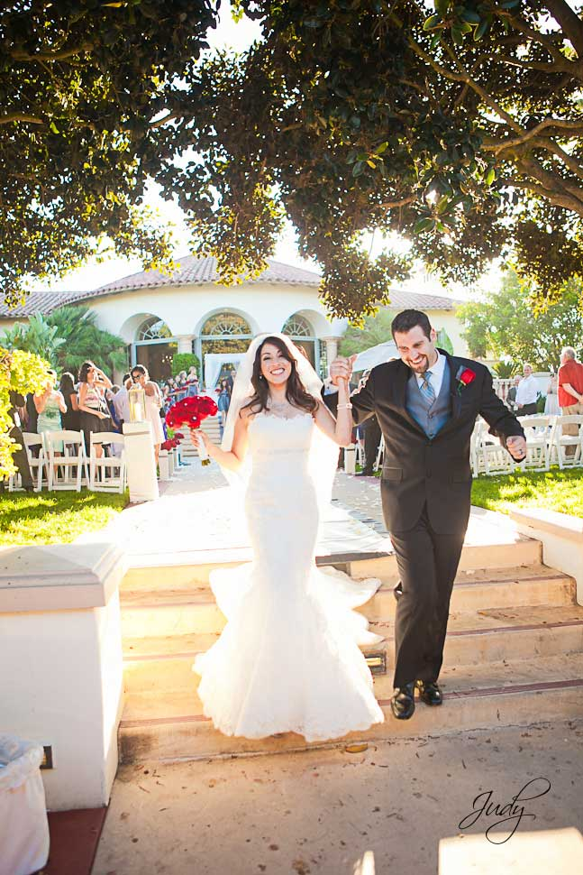 Spanish Hills wedding ceremony