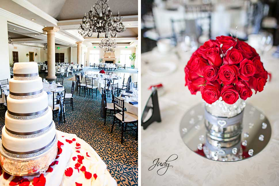 Spanish Hills Country Club Wedding Reception