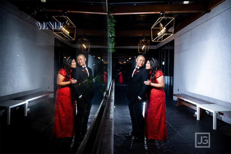 Venue by Three Petals, Huntington Beach | Stephanie + Thomas