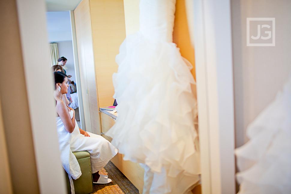 Ritz Carlton Los Angeles Wedding Preparation